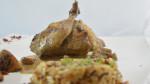 Cailles farcies aux marrons et foie gras