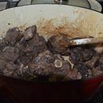 Civet de biche Griller la viande