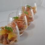 Crevettes aux agrumes Zoom