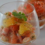 Crevettes aux agrumes