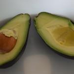 Guacamole au jambon Ouvrir en deux les avocats