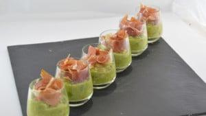 Recette de Guacamole au jambon
