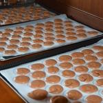 Macarons au chocolat Laisser crouter 30 minutes