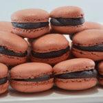 Macarons au chocolat teminer