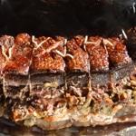 Magret de canard au foie gras Magret cuit