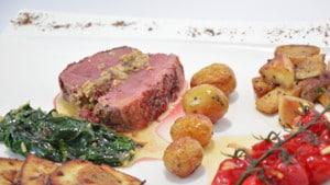 Recette de magret de canard au foie gras