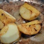 Pâtes fraiches et foie gras Cuire les pommes