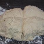 Pain lard et comté Laisser pousser la pâte