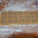 Raviolis au foie gras et cèpes Faire les raviolis à la planche