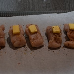 Requin cuisson basse température Poser une noisette de beurre