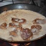 Rognons de veau à l'Armagnac Crèmer