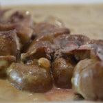 Rognons de veau à l'Armagnac Terminer