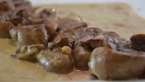 Recette de Rognons de veau à l'Armagnac
