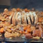 Roti de porc aux champignons Zoom