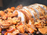 Rôti de porc aux châtaignes