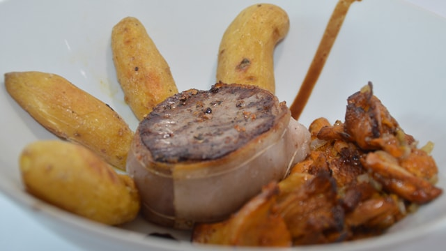 Tournedos aux girolles Terminer