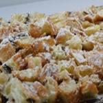 Croissant façon pudding Passer au four