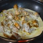 Curry de prc aux champignons Crémer