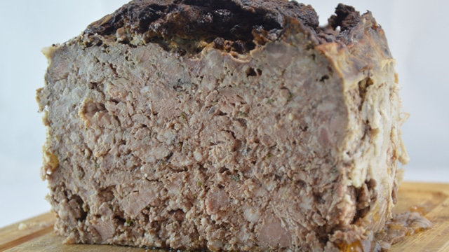 Terrine de porc Terminer