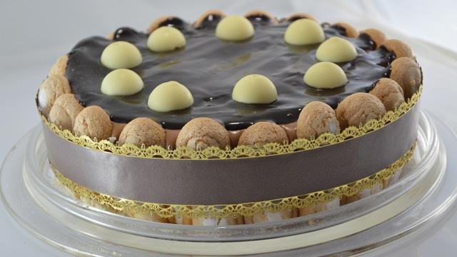 Charlotte aux trois chocolats