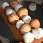 Fricassée de champignons Brosser les champignons