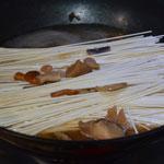 Pâtes Japonaises Ajouter les pâtes