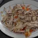 Soupe tai de poulet Désosser les ailes