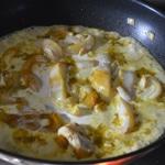 Calamars et curry Cuire avec le curry