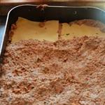 Lasagnes de poulet et jambon Une couche de viande