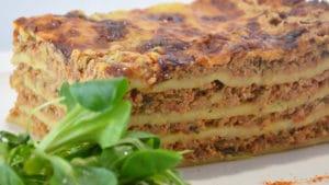 Recette de Lasagnes au poulet et jambon