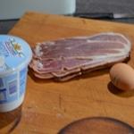 Raviolis au jambon Les ingrédients