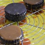 Gateau chocolat et caramel Ajouter le caramel