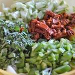 Salade à pomme de terre Les ingrédients