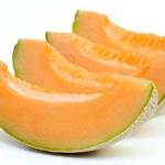 Salade de melon Trancher le melon
