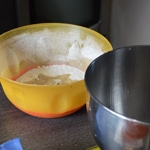 Macarons fruit de la passion Préparer la poudre d'amande