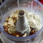 Foie de veau pané aux noix Mixer les noix