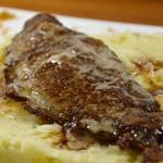 Foie de veau pané aux noix zoom