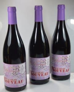 Beaujolais nouveau 3 bouteilles