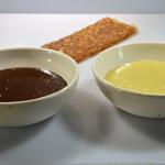 Bûche chocolat au caramel croustillant Les ganaches