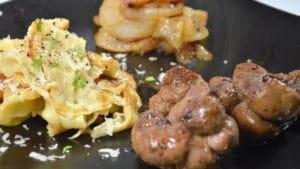 Rognon de veau aux oignons - Recette de rognons de veau ...