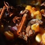 Chutney coings et abricots Badiane et bâton de canelle
