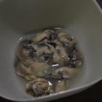 Les huîtres chaudes au Bergerac blanc Les huitres