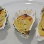 Les huîtres chaudes au Bergerac blanc Huîtres gratinées