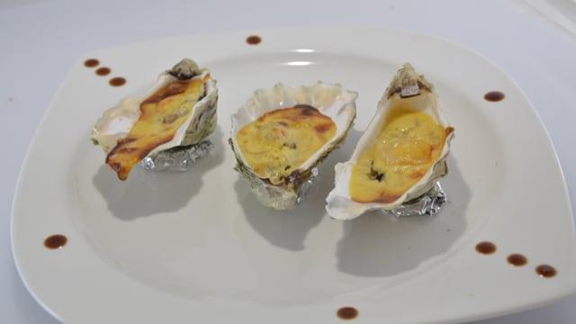Les huîtres chaudes au Bergerac blanc