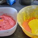 Macarons bicolors au citron