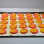 Macarons bicolors au citron Macarons