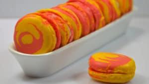 Recette de Macarons bicolores au citron vert