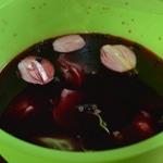 Marcassin au vin rouge Préparer la marinade