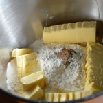 Pâté en croûte de lapin Préparer la pâte