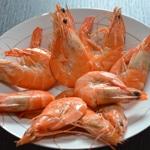 Verrine de crevettes Décarcasser les crevettes